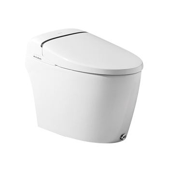 One piece tankless smart intelligent toilet floor mounted japanese toilet china factory flush automatic electric