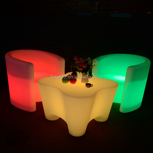 LED camber bar counter furniture outdoor furniture for parties in beaches