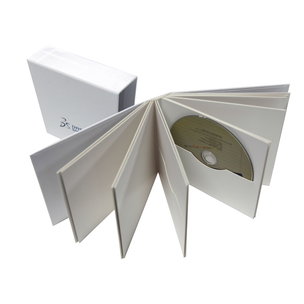 Customized Printed Paper CD Box Set Packaging Box Set and CD DVD Packaging CD Duplication and Packaging