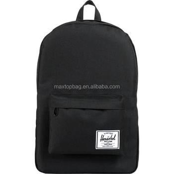 2014 New Simple And Cheap Laptop Backpack Bag With Solid Color ...
