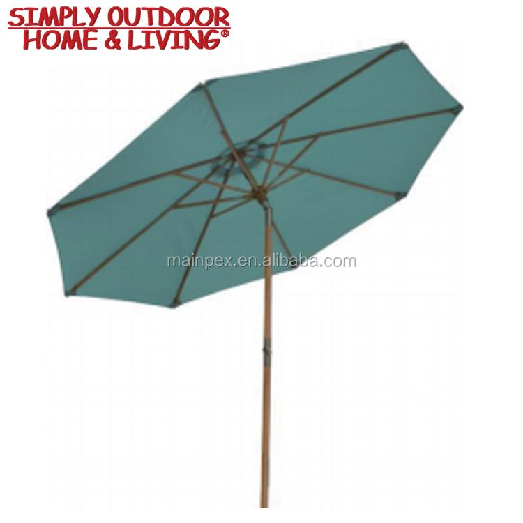Outdoor Patio Garden Centilever Parts Patio Umbrella Replacement Canopy Sun  Garden Parasol Led Umbrella