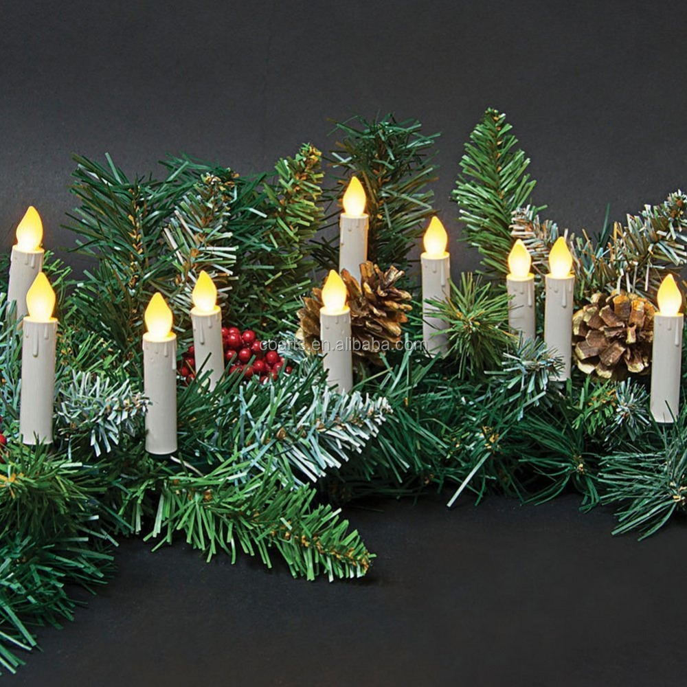 Christmas Tree Flameless Candle, Christmas Tree Flameless Candle ...