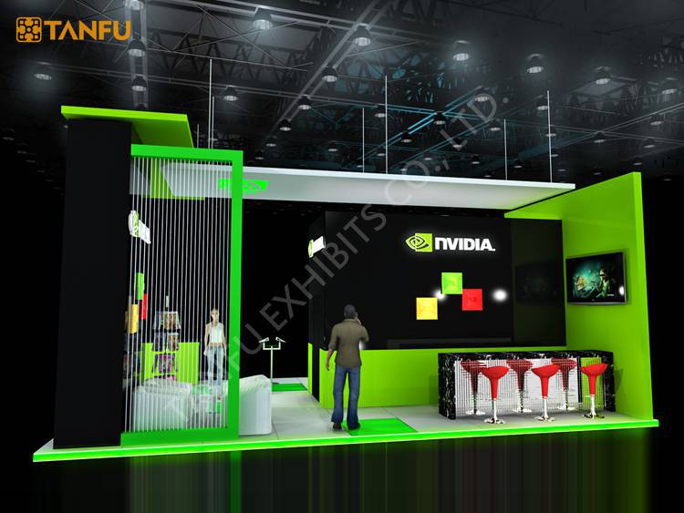 Exhibition Booth Games : Ftx ft trade show booth exhibit display with led light