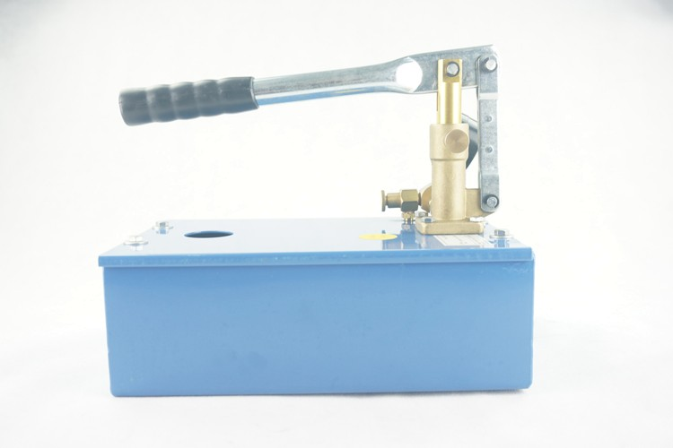Low price small 0-250bar 5L water tank manual hydraulic pressure test pump