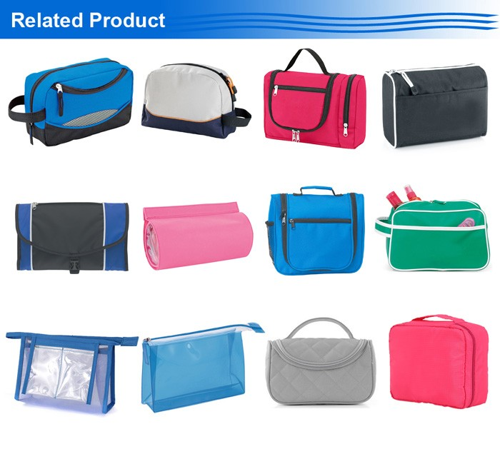 Travel Kit Organizer Bathroom Storage Wash Bag Hanging roll up toiletry bags