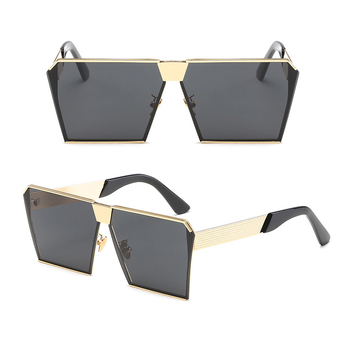 Hip Sun Mirror Brand Gold Rose Glasses Designer Buy Rock Fashion Flat Top Women Frame Square Men Lady Eyeglasses Hop Male Party Sunglasses zqMSUVp