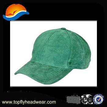 Custom Baseball Cap High Quality Suede Grass Green Baseball Cap Summer baseball  Hat For Women e20bb060648d
