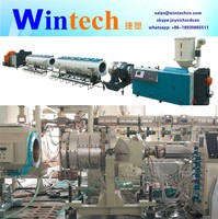 High performance HDPE PVC electric conduit pipe extrusion making machine/line