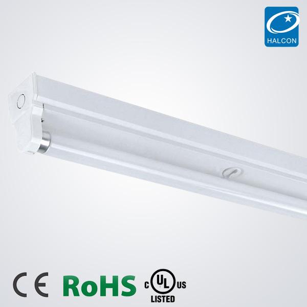 T5 T8 Led Batten Lighting Fixture Ce Ul Cul Rohs Energy Saving Fluorescent Light Single Commercial Office Fix