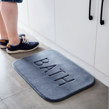 Comfortable Shower Anti-slip memory foam bath mat