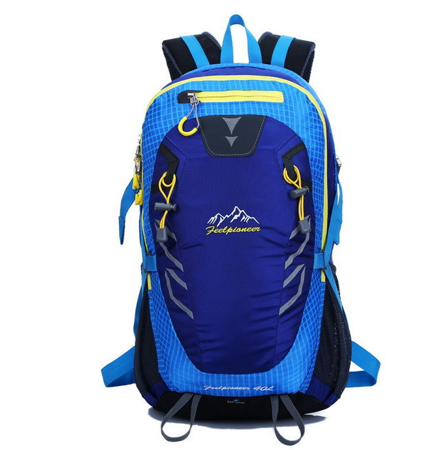 40 L Outdoor Climbing Package Men's And Women's Outdoor Sports Leisure Backpack High Quality Nylon Waterproof Outdoor Travel Bag