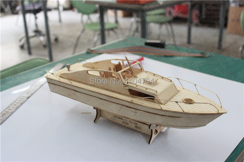 Free shipping laser cut yacht wood puzzle European Classic