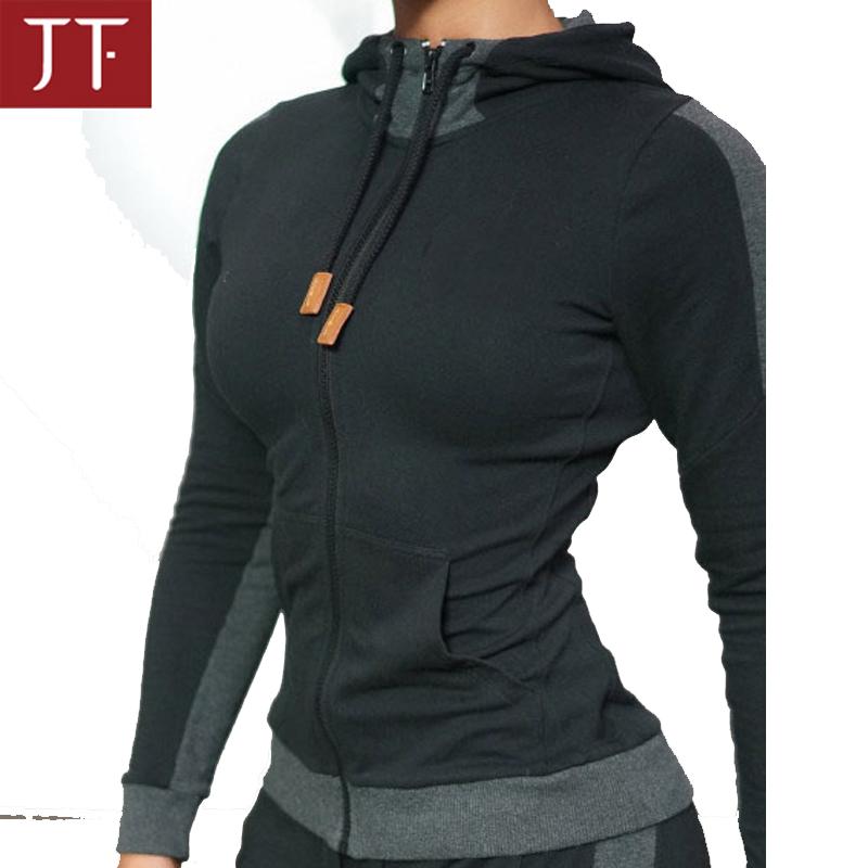 4941e6401 الجملة ملابس رياضية الصالة الرياضية تجريب الساخن بيع ملابس النساء سترة مخصص  هوديي