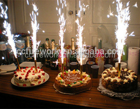 10cm Cold Sparkler Birthday Candles Indoor Fireworks For Party