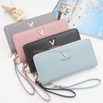 be0330562c9d Оптовая продажа дешево PU кожаный модный красивый Женская сумочка-кошелек  кошелек