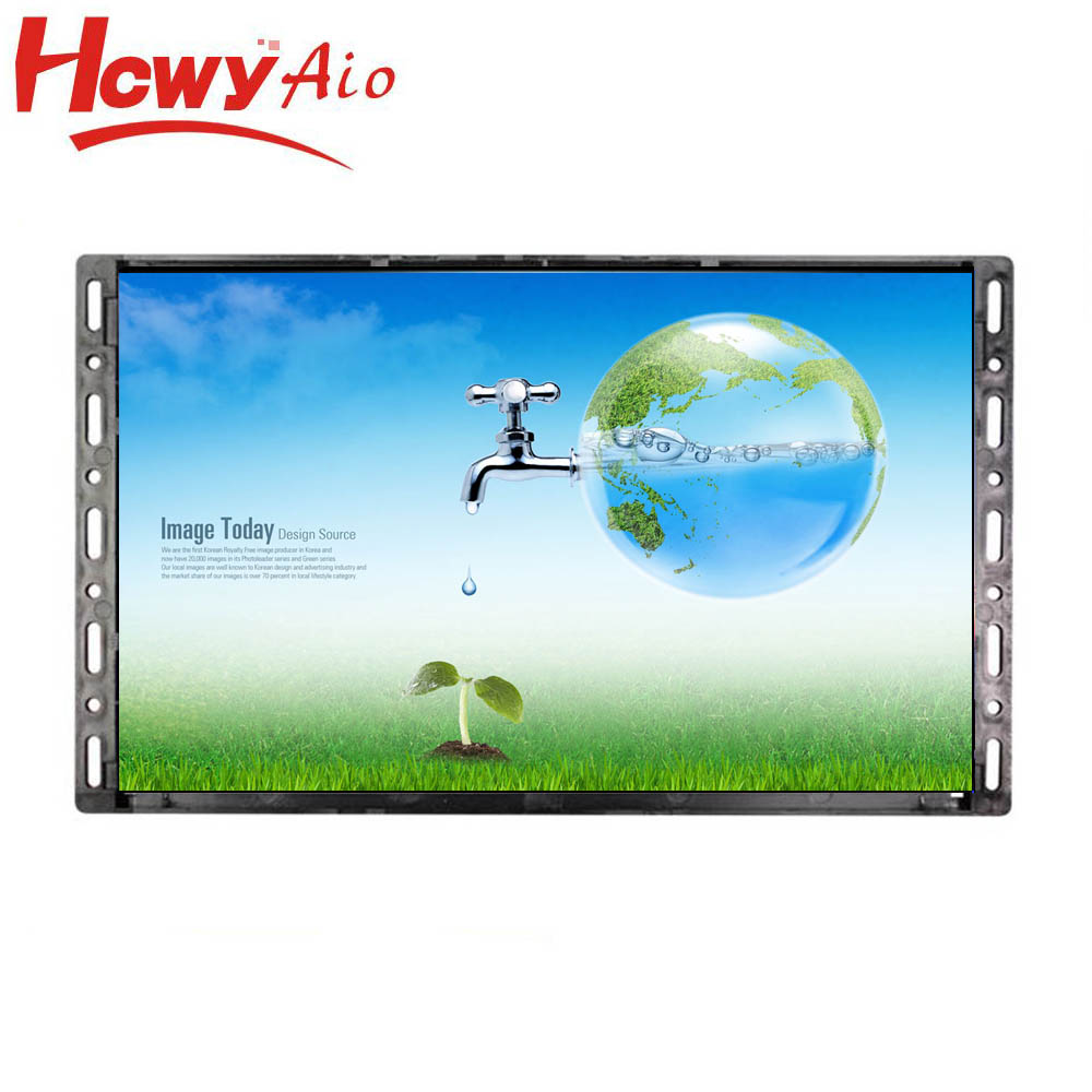 Factory offer 10 inch wall mount open frame ad player with good quality