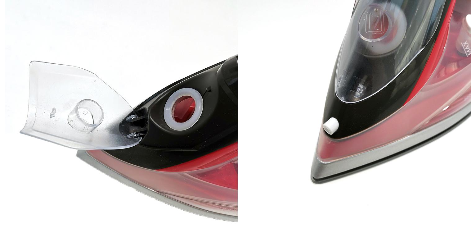 Auto-Shut Off 300ml Water Capacity Professional Electric Cordless Steam Press Iron