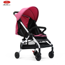 Bellers lightweight travel system baby doll pram stroller with adjustable 5-Point Safety System and height seat