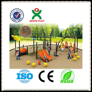 Cheap outdoor playsets for kids, plastic outdoor playsets, fun kids games/QX-044B