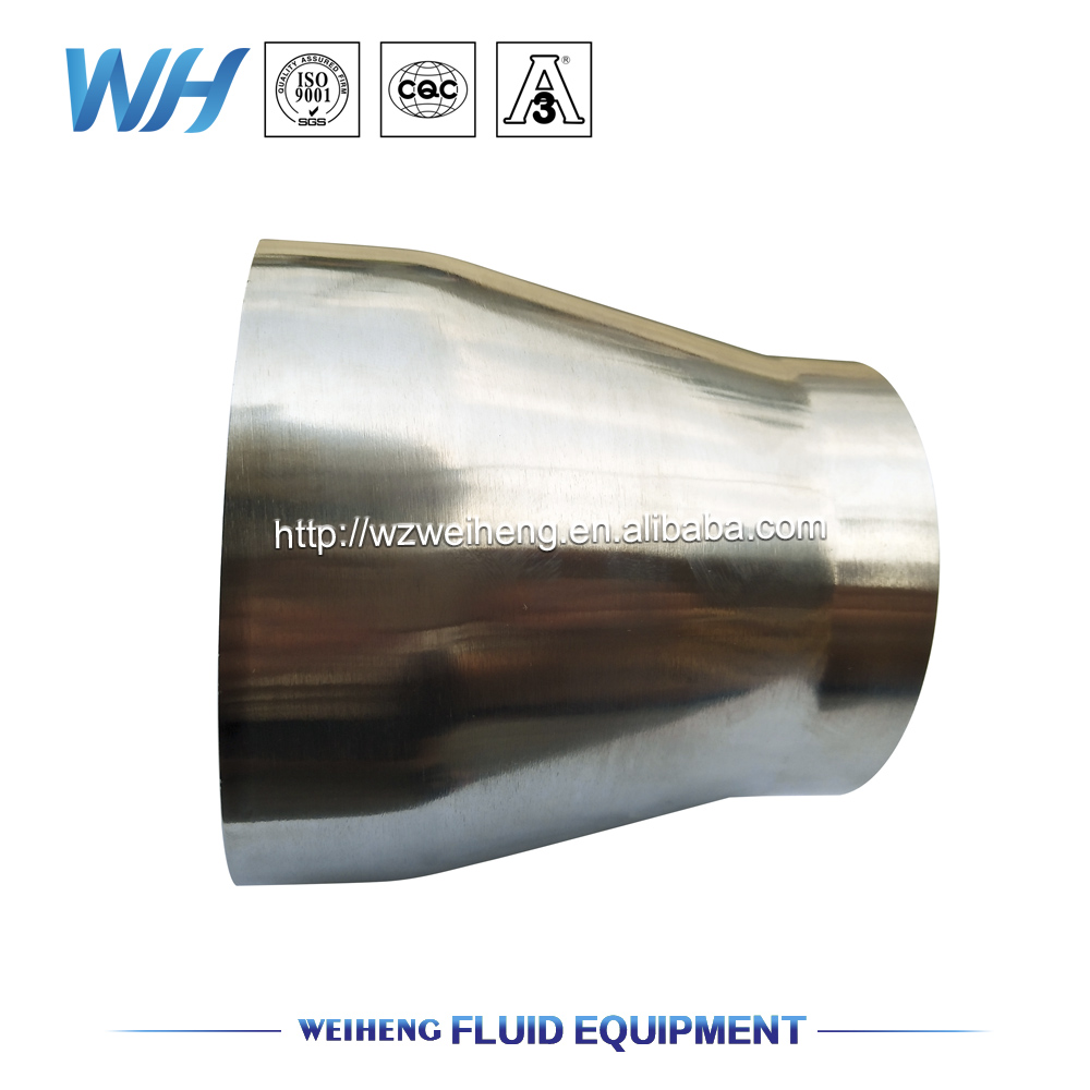 Tri Clamp Concentric Reducer, SS304 Sanitary Pipe Fitting