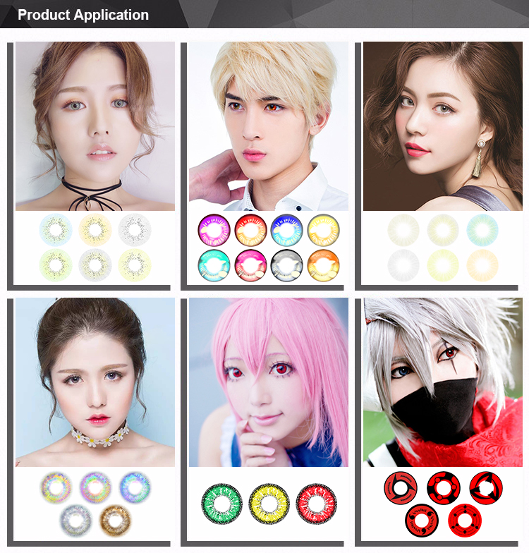 Realcon Wholesale Gorgeous Design Eyes Color Contact Lenses Manufacturer