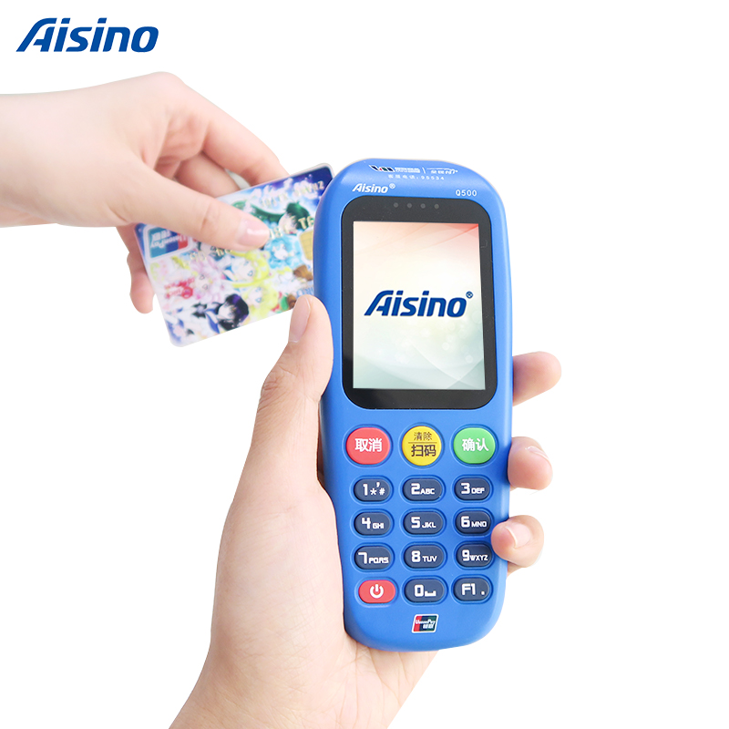 Q500 Handheld Wifi Gprs Qr Code And Nfc Payment Pos Terminal - Buy Wireless  Handheld Pos Terminal,Mobile Pos Terminal Device,Gprs Desktop Pos Terminal