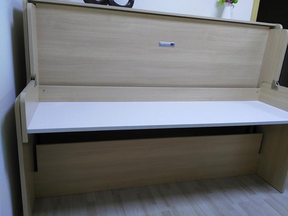 Furniture Hardware Pneumatic Study Desk Murphy Bed
