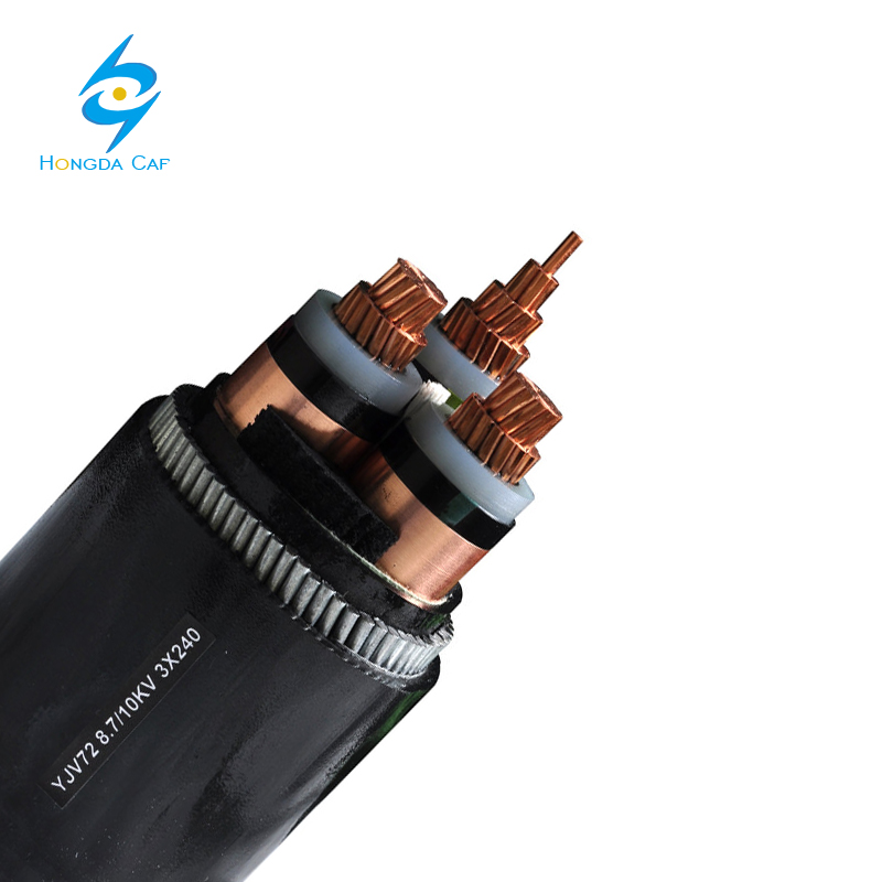 Low Voltage 0.6/1kV 16mm2 XLPE or PVC Insulated Solid Aluminum Copper Conductor Concentric Cable for Power Supplies
