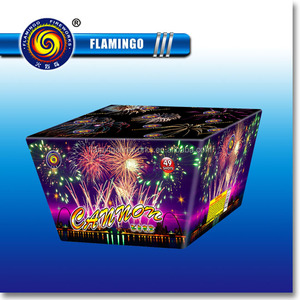 "DC1249A 1"" 49S Cannon Wholesale Consumer Cake Fireworks"