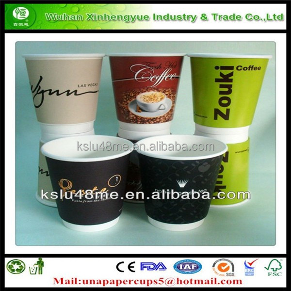 12oz Disposable Coffee Cup with Lids, CN Leading Factory(BRC,ISO,FDA)