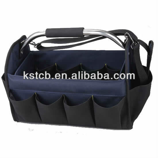 Wholesale high quality 600D polyester material waterproof durable folding rolling tool hand bag