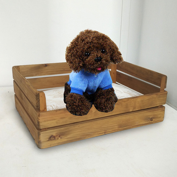 Rustic Wooden Dog Beds For Small Pet Luxury Funny Wood Bed Designs Product On Alibaba