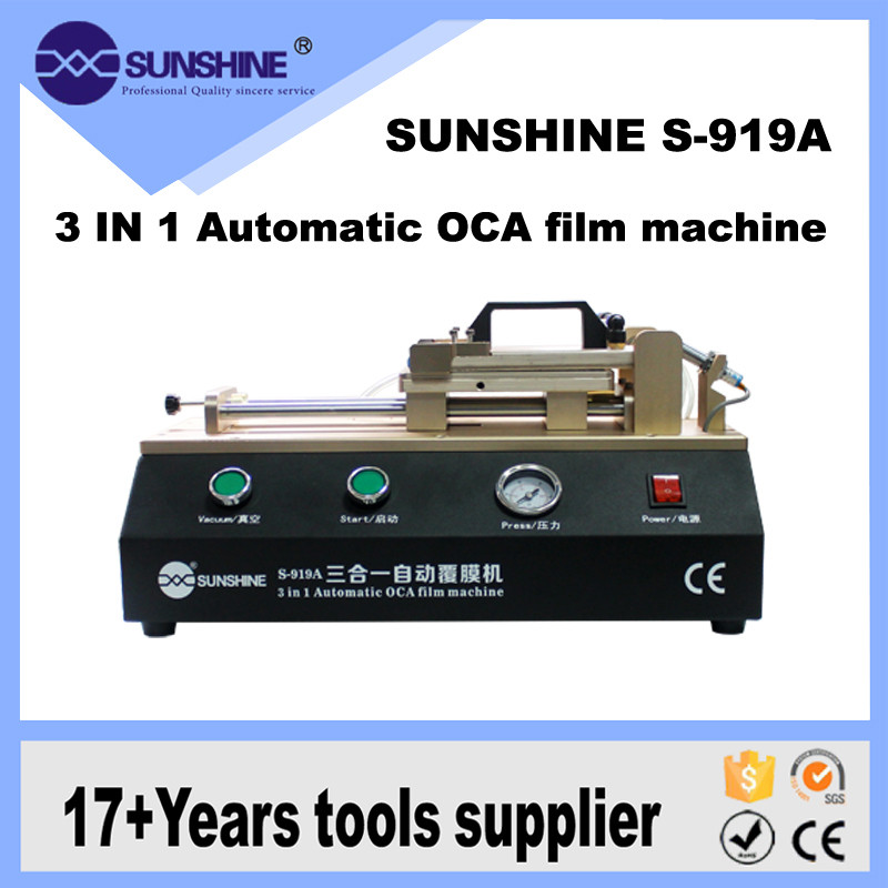 3 in 1 Vacuüm Oca Lamineren Machine Film Lamineermachine mobiele lcd maken machine