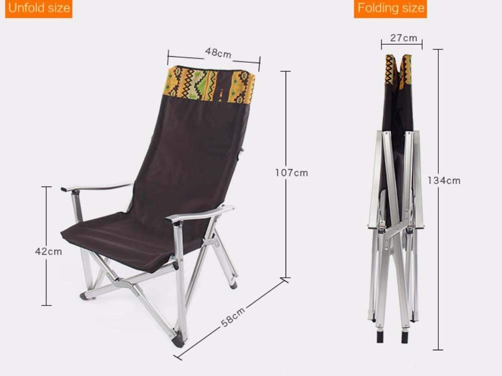 Outdoor Folding Chair,Sun Loungers ,Portable Collapsible Camping Backrest Stool,Ultralight Folding Reclining Chairs ,for Hiking Walking Fishing Travel Hunting Sports Party Outdoors Beach Moon Chairs