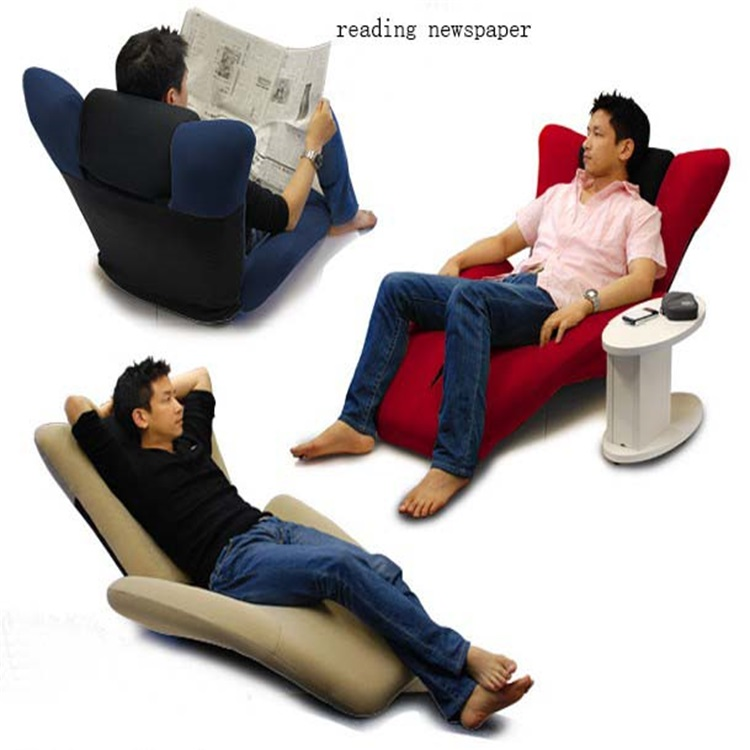 Factory directly sell portable adjustable and folding sofa chair