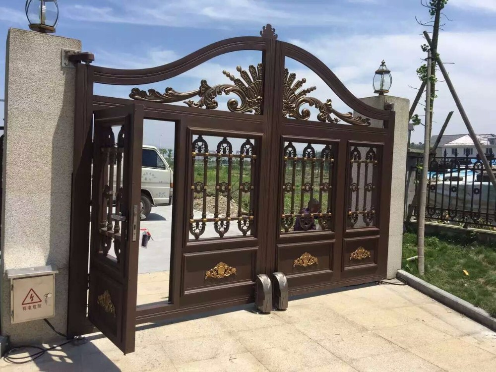 17 Elegant Gates To Transform Your Yard Into Inviting Place: Interior Steel Gate Designs Farm