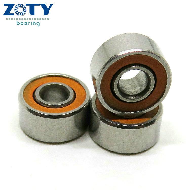 ABEC 7 dry lube fly reel miniature hybrid ceramic ball bearing fishing reel bearings for fishing reels 3x10x4 5x11x4 5x10x4