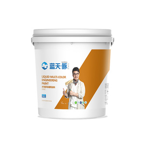 Reflective and heat insulation building coating