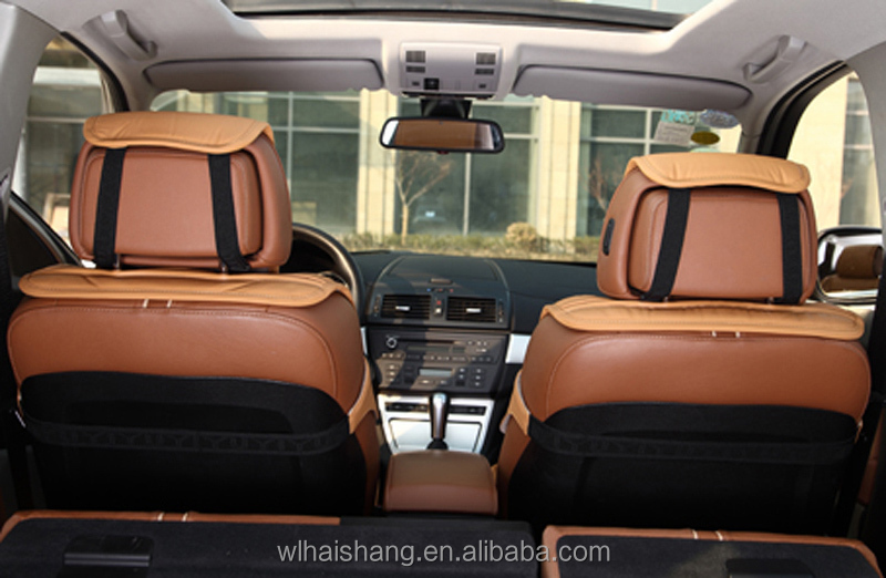 Wellfit Sponge Cold Silk With Leather Car Seat Cover Car Seat ...