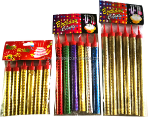 Import Wedding Birthday Cake Party Candle Fireworks