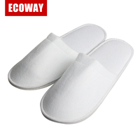 hotel slipper and indoor slipper wholesale nap cloth spa slippers