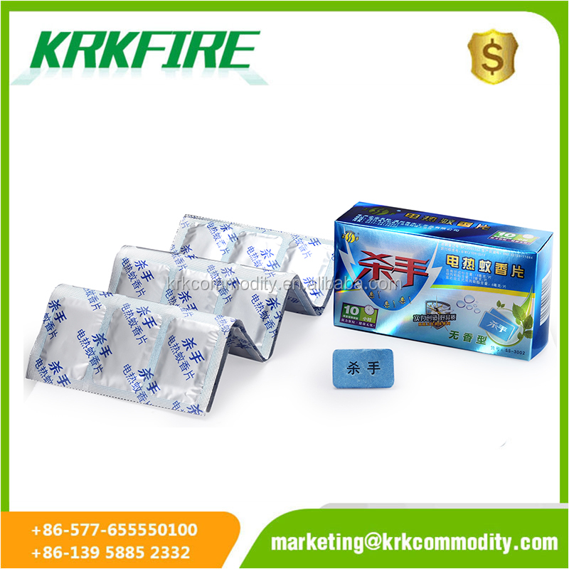 China manufacturer high quality pesticide electric mosquito repellent mats for killing mosquito with RHAKE box package