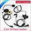 Two Way Radio Motorcycle Helmet Headset headphone For KENWOOD walkie talkie