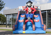 Factory direct inflatable bouncer, PVC material inflatable slide ,Inflatable slides New fire truck slides