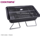 Stainless Steel Simple Mini Portable Charcoal BBQ Grill