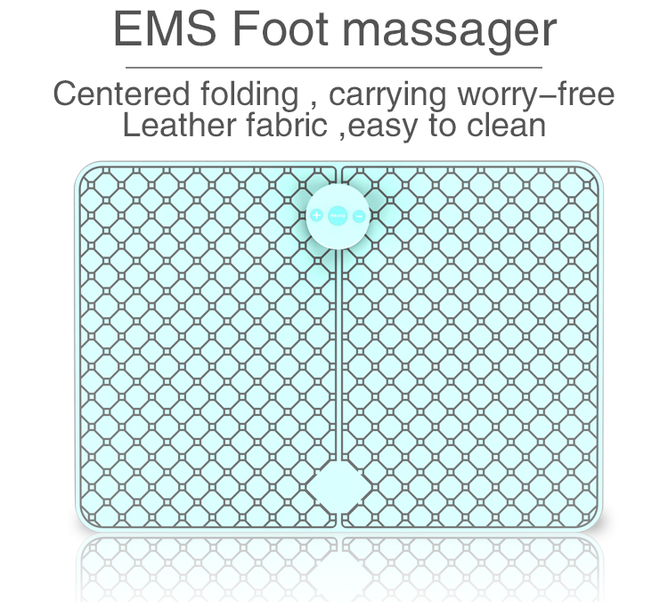 Hot Convenient pulse ems foot Smartphone control massager for Relax Muscles