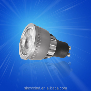 China Best 220V 12V 3W 5W CE ROHS MR16 GU10 COB LED Spotlight, COB Dimmable MR16 GU10 LED Spot Light