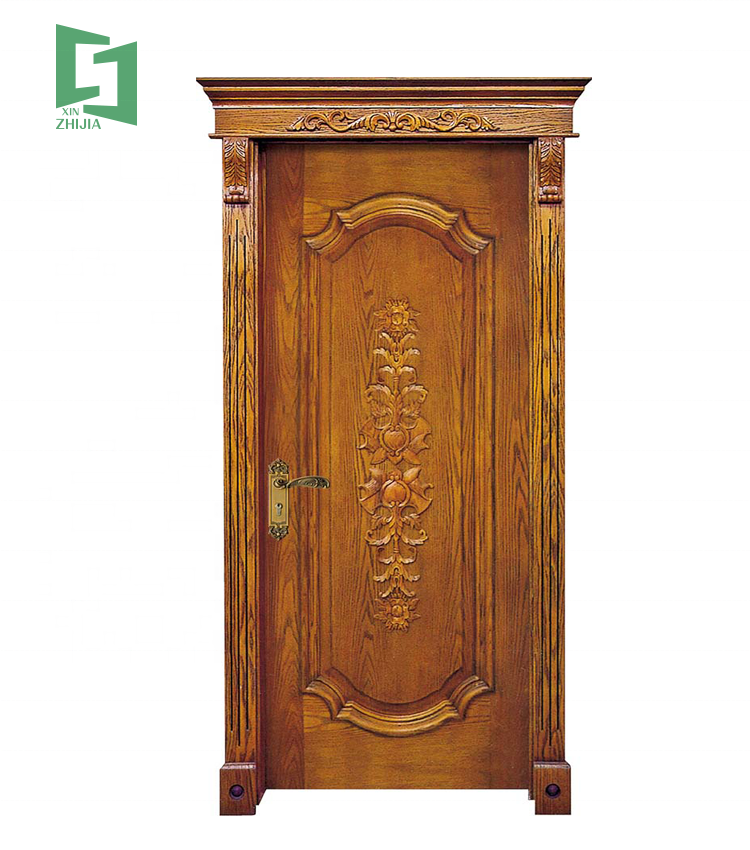 latest design carved fashion solid burma interior door diamond design wooden door