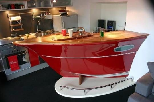 Home boat shape acrylic bar counter classic wooden solid surface material buy acrylic bar - Classic bar counter design ...