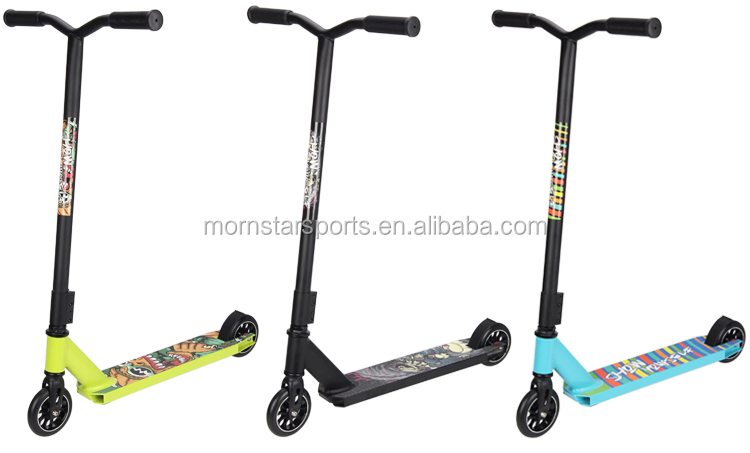 Hot sale high quality scooter Aluminum alloy frame freestyle 360 stunt scooter